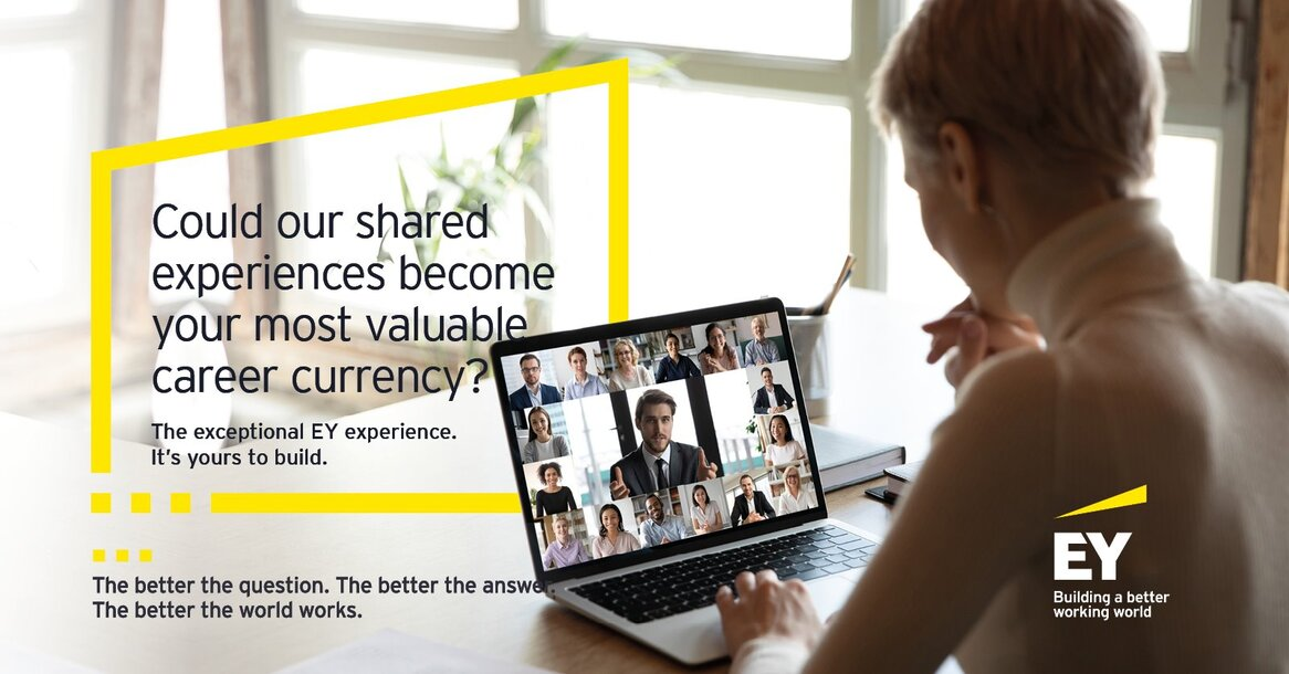 Event EY Virtual Interview Training header