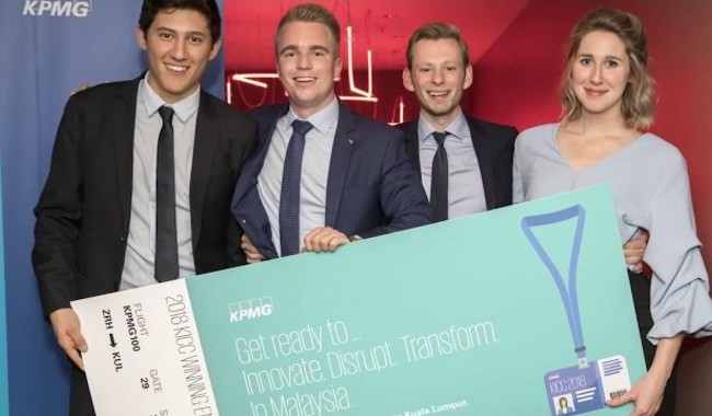 Event KPMG KPMG Innovation & Collaboration Challenge video